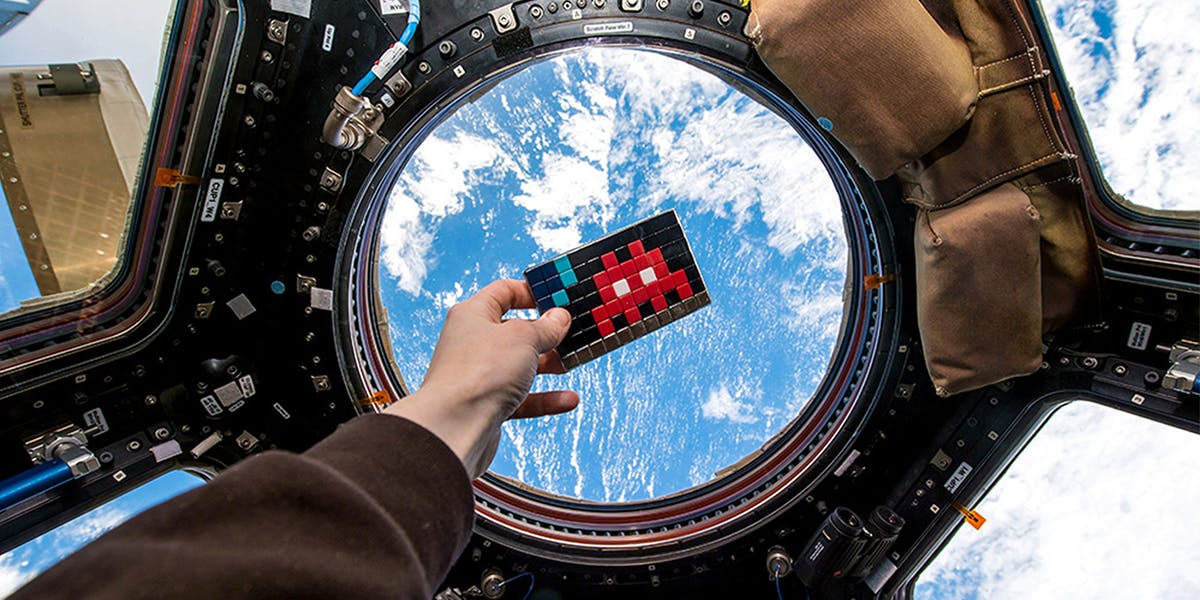 8 Works of Art in Outer Space