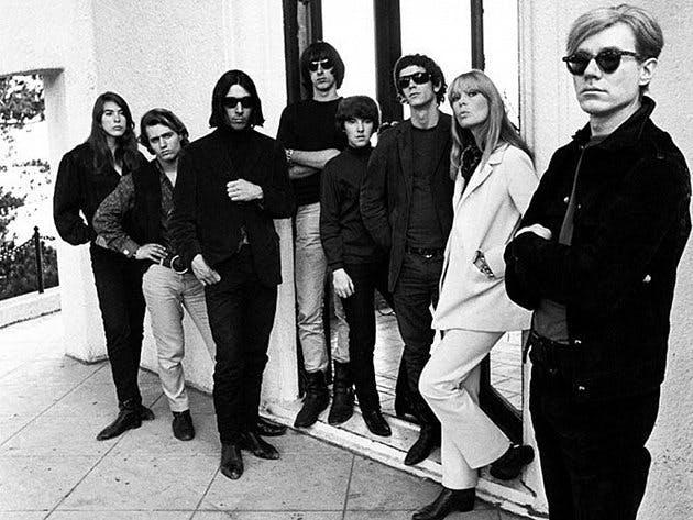 Andy Warhol and The Velvet Underground, image via denik.cz