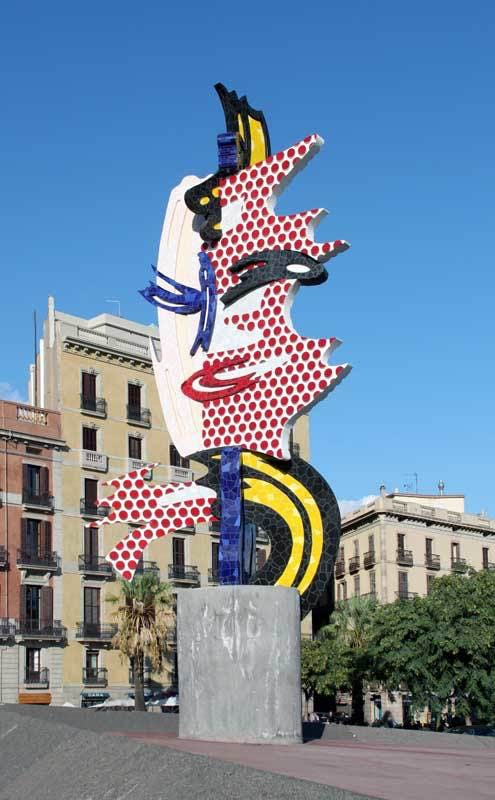 Roy Lichtenstein, Barcelona Head, 1992