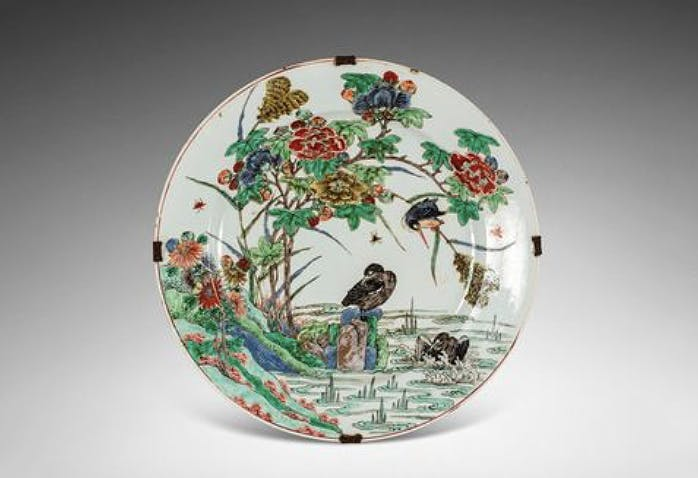 Plate, China, Kangxi period, picture © Rossini