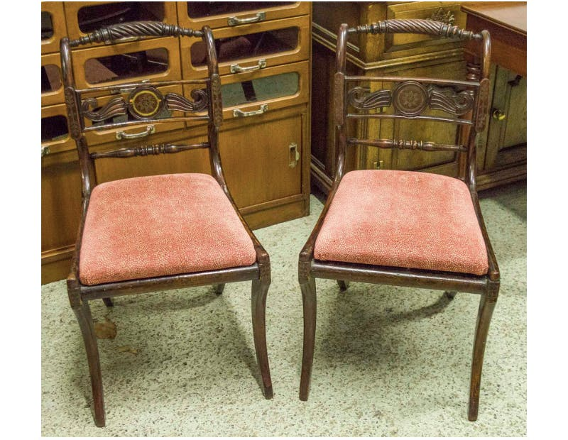 Dining Chairs. Photo: Lots Road