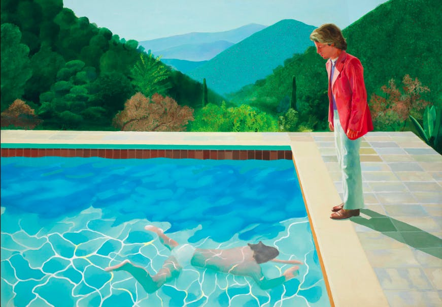 David Hockney, 'Portrait of an Artist (Pool with Two Figures)'. Bild: Christie's