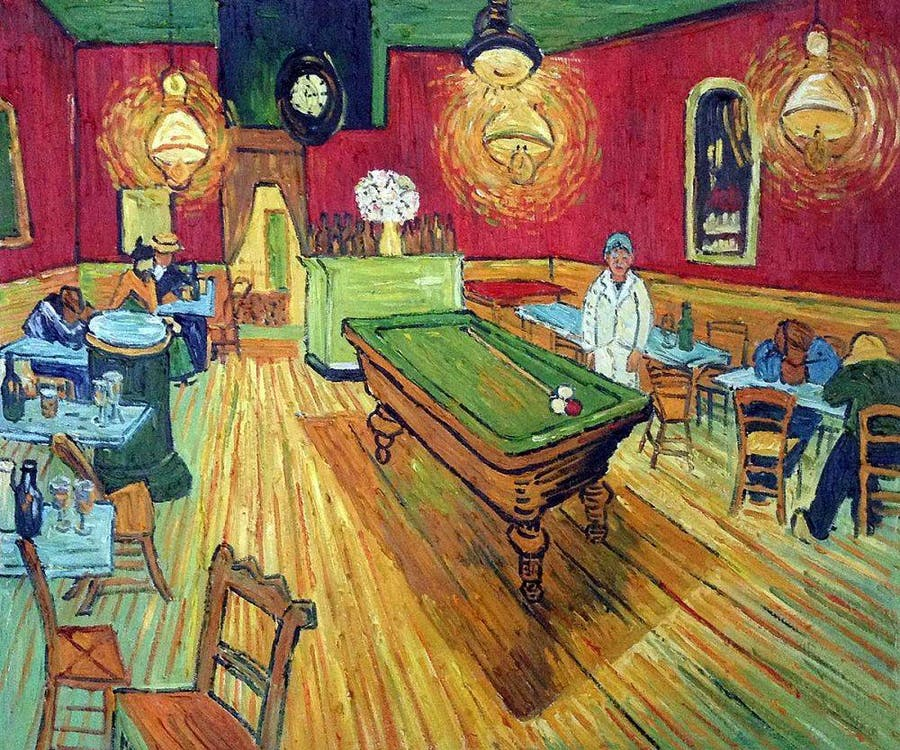 Vincent van Gogh, 'The Night Cafe', 1888. Photo: OverstockArt