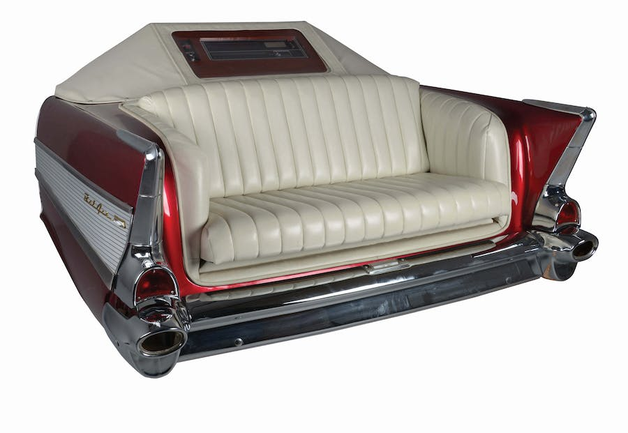 '57 Chevy Sofa Jukebox, 1989 | Foto: Morphy Auctions