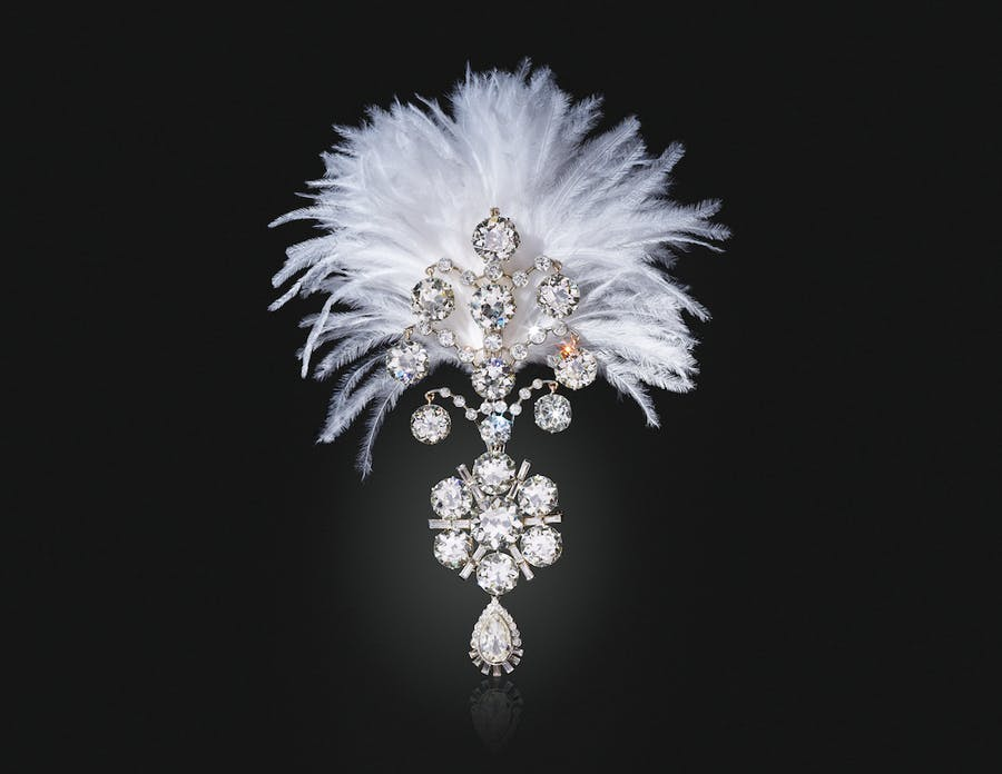 A Belle Epoque Diamond Jigha. Image: Christie's
