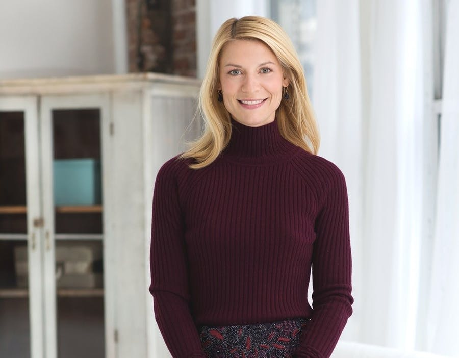 L'actrice Claire Danes Photo Kelly Taub, courtesy ART21