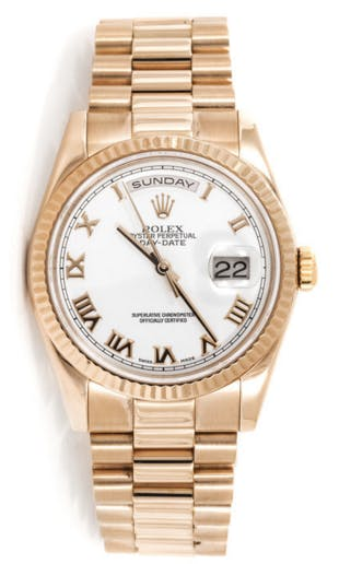 Pre-Owned Rolex Day Date 1182355 Govberg