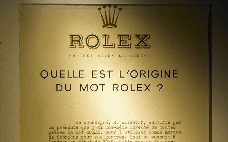 Rolex-signification