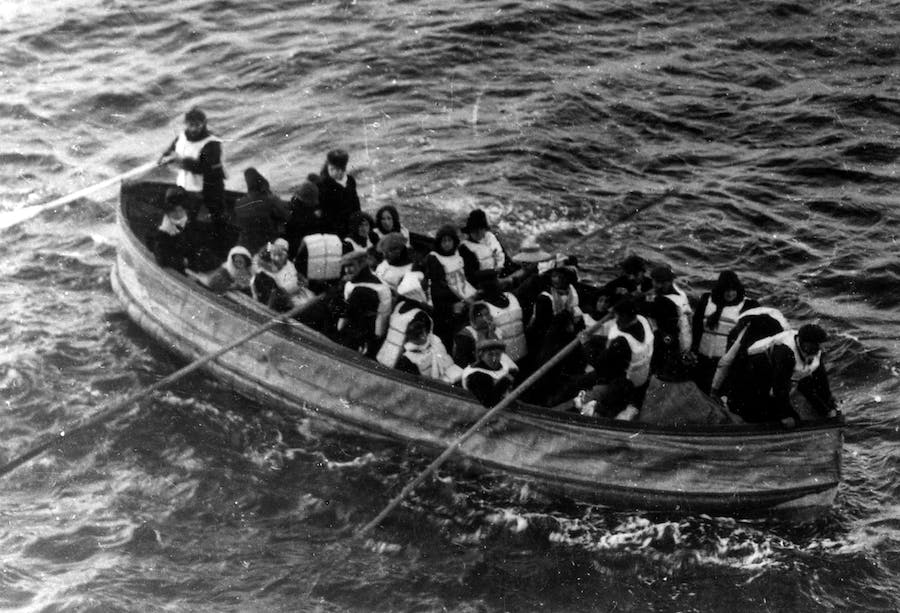 The lifeboat that Björnström-Steffansson escaped the Titanic on that was rescued by the RMS Carpathia. Image: Wiki Commons