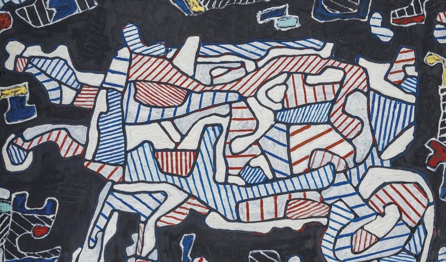 Jean Dubuffet, The Wheelbarrow, 1964, image © Christie's