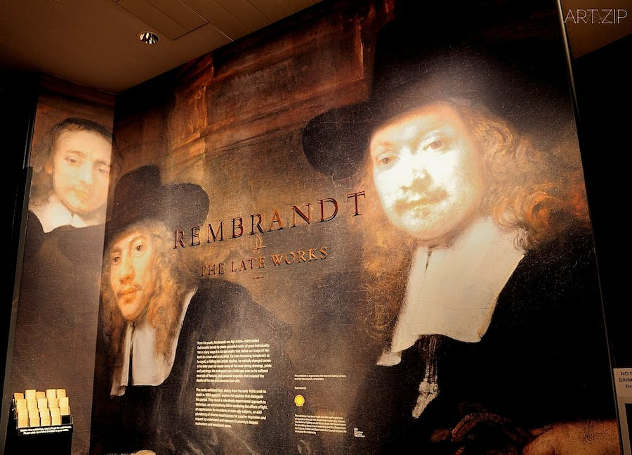 Ausstellung Rembrandt The Late Works in der National Gallery in London. Foto: artzip
