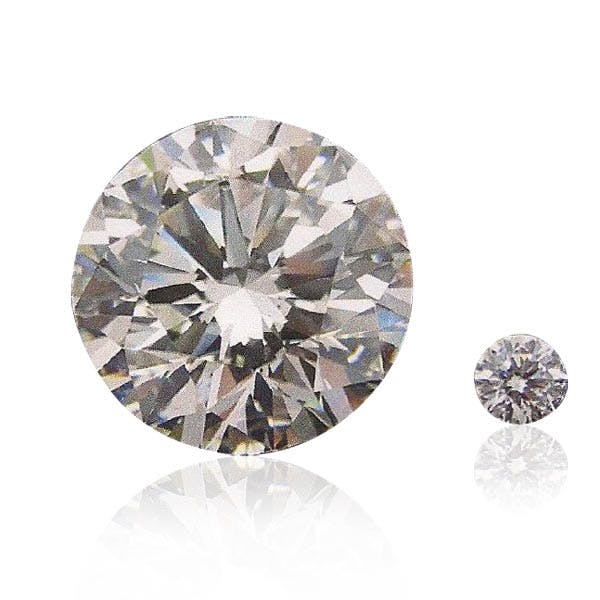 Runder Diamant-Brillant von 63,87 ct