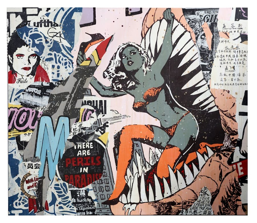 Faile (Collective), « New York City 02 », 2007, image ©Chiswick