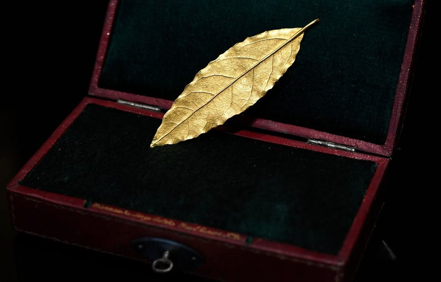 Feuille d'or, image ©AFP