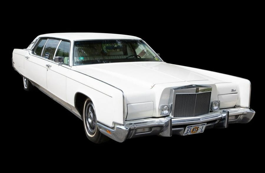 Elvis Presleys 1973 Lincoln Continental | Foto: GWS Auctions