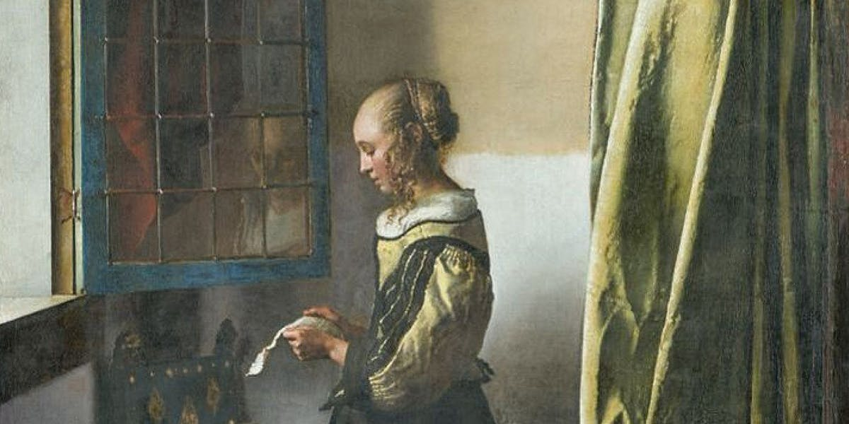 A Cupid Revealed in a Vermeer Painting after 300 Years