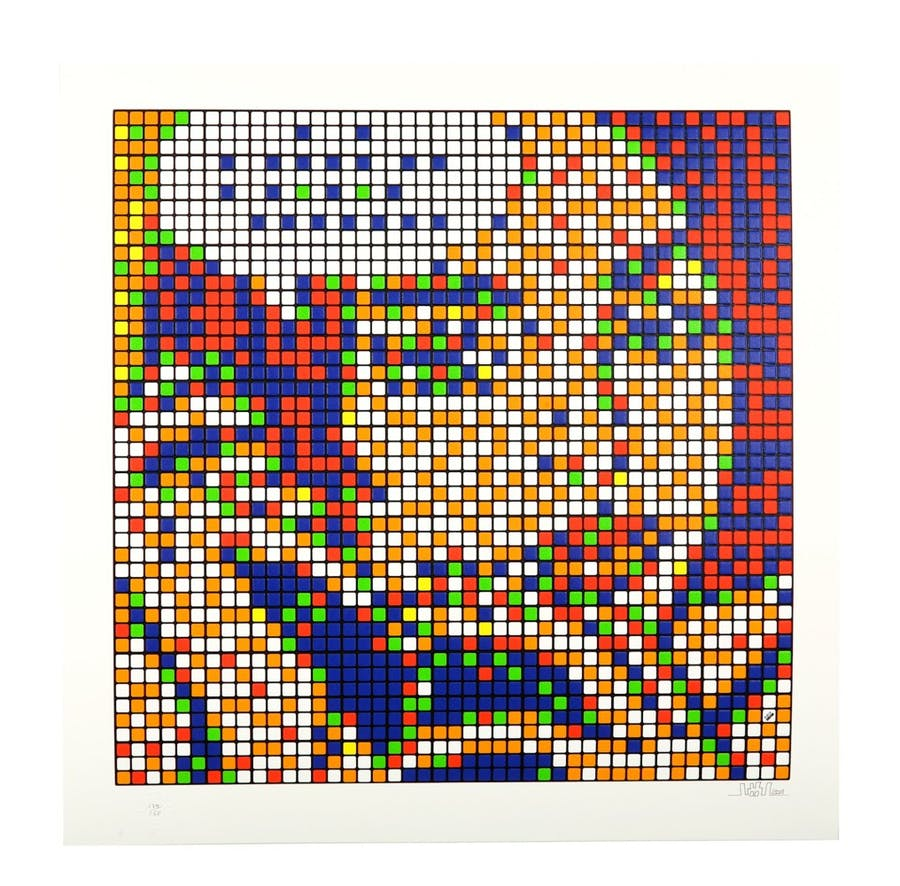 Invade, « Rubik Ohh...Alright... », 201, image ©Chiswick