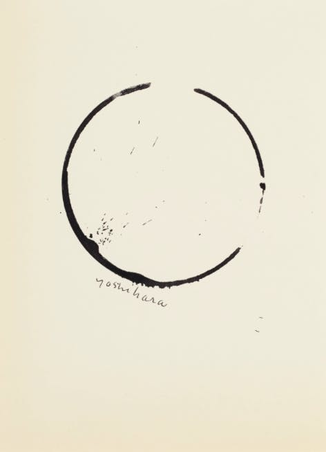 Jiro Yoshihara, Circle, Untitled