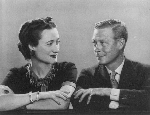 Wallis Simpson et son mari Edward VIII, un couple controversé mais stylisé
